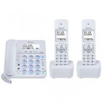 パイオニア デジタルコードレス留守番電話機 子機2台付 ホワイト TF-SA36W(W)