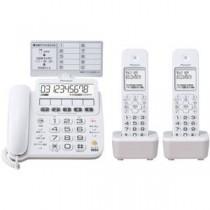 パイオニア デジタルコードレス留守番電話機 子機2台付 ホワイト TF-SE16W(W)