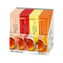(まとめ)味の素AGF ブレンディ フルーツティー アソート20本入(4種×5本入)【×5セット】