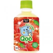 (まとめ)コカ・コーラ Qooりんご280mlPET 1箱(24本)【×2セット】