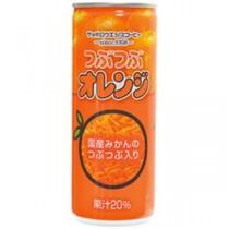 サッポロウエシマコーヒー つぶつぶオレンジ 250ml 1箱(30本)