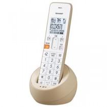 シャープ デジタルコードレス電話機(子機1台) ベージュ系