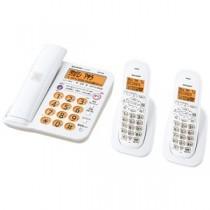 デジタルコードレス電話機 子機2台タイプ ホワイト系