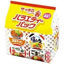 (まとめ)サンヨー食品  サッポロ一番ミニバラエティー 4食×6P(×2セット)