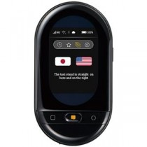 キングジム ポータブル型翻訳機ワールドスピーク + 国内専用SIM HYP10-J48クロ 1台