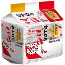 (まとめ)サトウ食品 サトウのごはん 秋田県産あきたこまち 200g 1セット(40食:5食×8パック) 【×3セット】