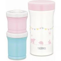 サーモス まほうびんの離乳食ケース 130ml/90ml ピンク JBW-240-P