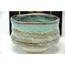 美濃焼 抹茶碗 11.5cm ×11.5cm ×8cm[7325]