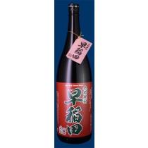 本格焼酎【早稲田(赤ラベル)】1.8ℓ(一升)