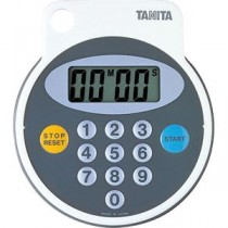 TANITA(タニタ) デジタルタイマー 防滴タイマー100分計 5342 ブラウン