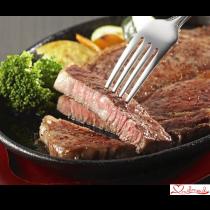 EMO牛(エモー牛) ステーキAセット