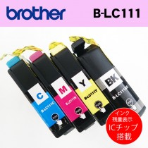 brother 互換インク 箱なしバルク品 4色セット!B-LC111/ DCP-J552N DCP-J752N MFC-J980DN-B MFC-J980DN-W等